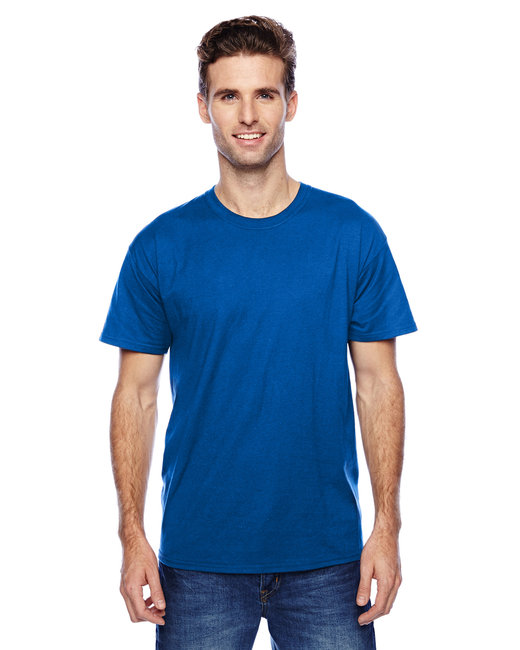 Hanes Unisex 4.5 oz. X-Temp® Performance T-Shirt - Deep Royal