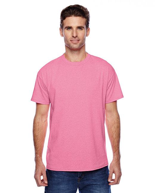 Hanes Unisex 4.5 oz. X-Temp® Performance T-Shirt - Neon Pnk Heather