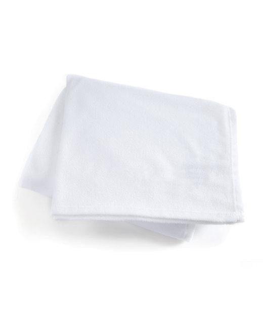 Kanata Blanket Premium Fleece Throw - White