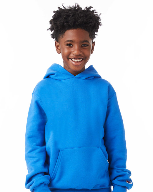 S790 Champion Youth 9 oz. Double Dry Eco® Pullover Hood