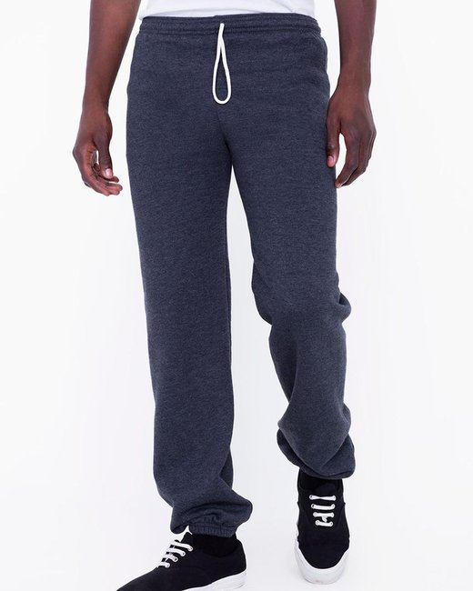 American Apparel Unisex Flex Fleece Sweatpants - Dk Heather Grey