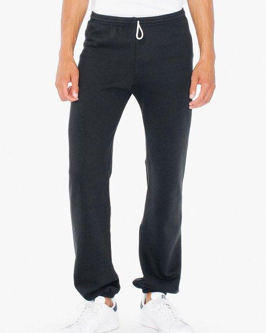 American Apparel Unisex Flex Fleece Sweatpants - Black