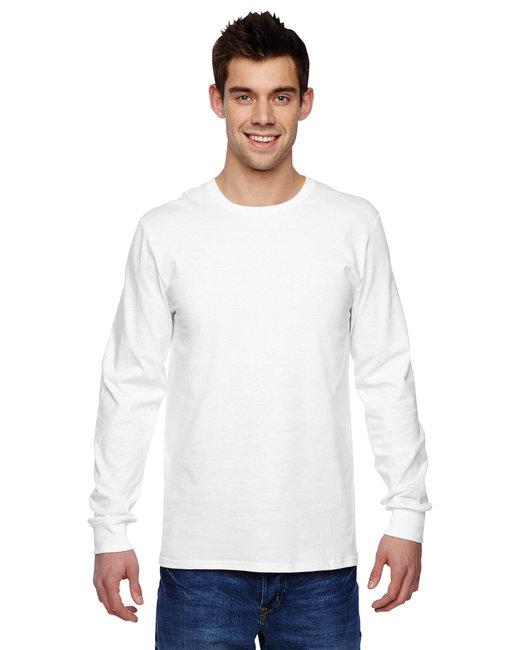Fruit of the Loom Adult 4.7 oz. Sofspun® Jersey Long-Sleeve T-Shirt - White