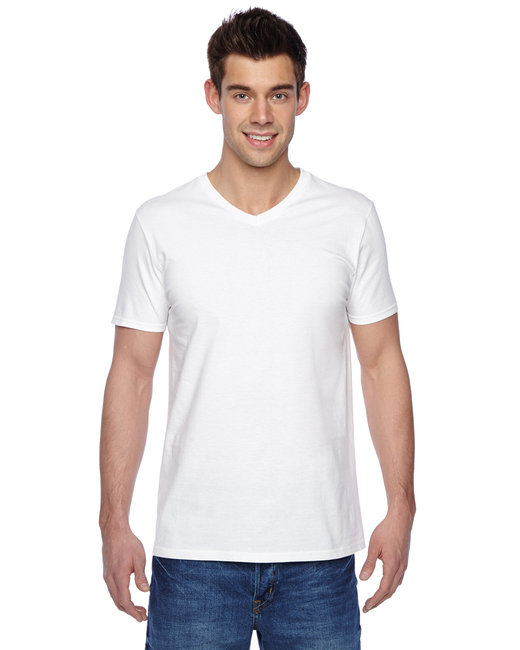 Fruit of the Loom Adult 4.7 oz. Sofspun® Jersey V-Neck T-Shirt - White