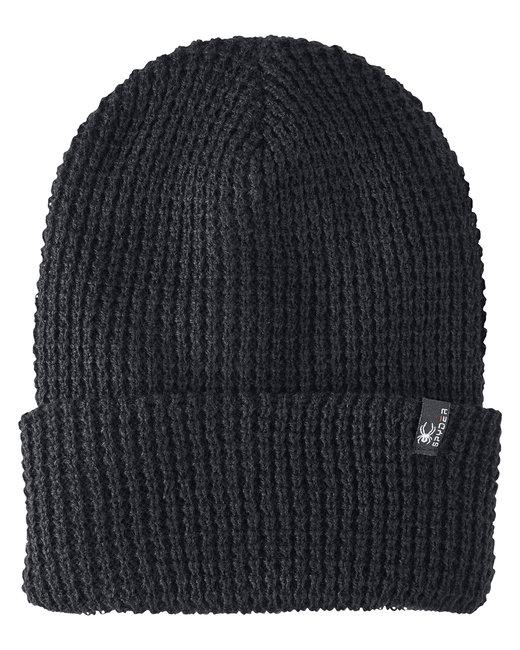Spyder Adult Vertex Knit Beanie - Black Melange