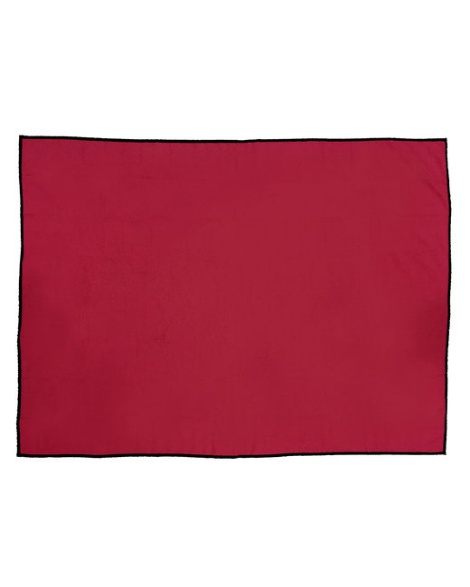 Pro Towels 45x60 Sand Repellent Beach Blanket - Red