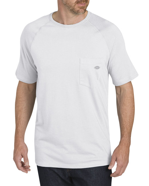 Dickies Men's 5.5 oz. Temp-IQ Performance T-Shirt - White