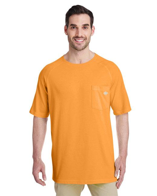 Dickies Men's 5.5 oz. Temp-IQ Performance T-Shirt - Bright Orange