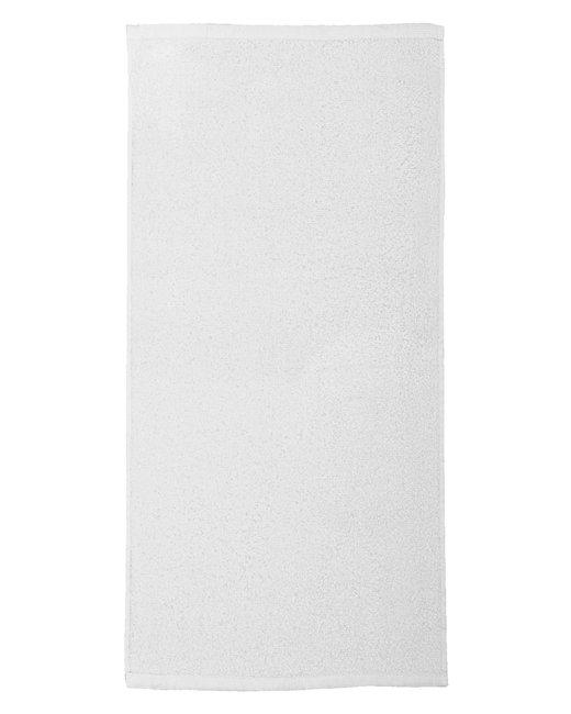Pro Towels 28x58 FOTO Vision Beach Towel - White