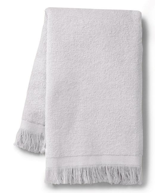 Towels Plus Fringed SpiritTowel - White