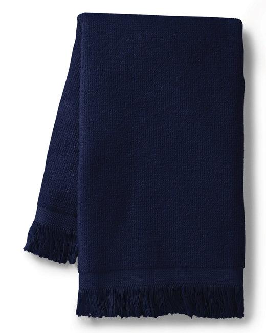 Towels Plus Fringed SpiritTowel - Navy
