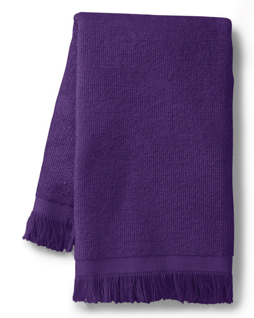 Towels Plus Fringed Spirit Towel - Purple