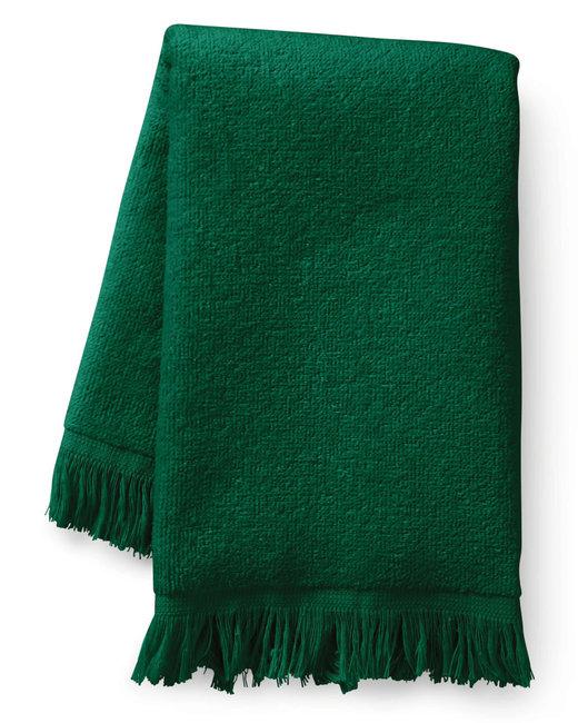 Towels Plus Fringed Fingertip Towel - Hunter