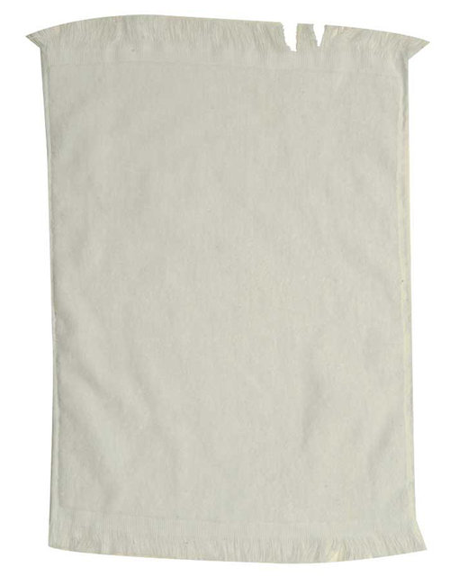Pro Towels Jewel Collection Soft Touch Fringed Sport/Stadium Towel - Natural