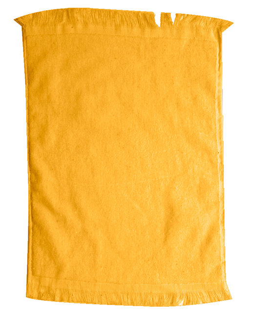 Pro Towels Jewel Collection Soft Touch Fringed Sport/Stadium Towel - Gold