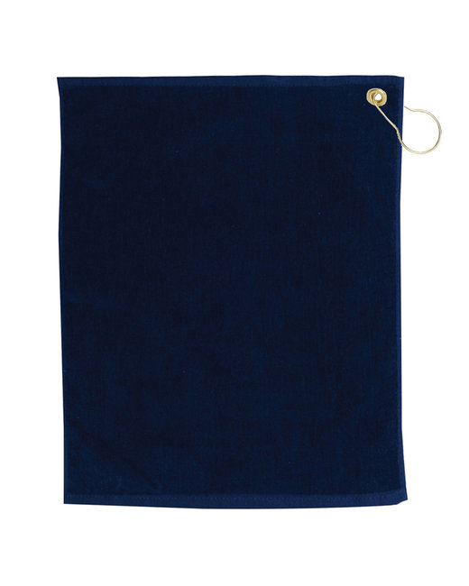 Pro Towels Jewel Collection Soft Touch Golf Towel - Navy