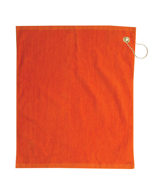 Pro Towels Jewel Collection Soft Touch Golf Towel - Orange