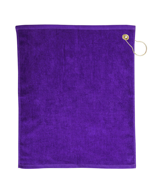 Pro Towels Jewel Collection Soft Touch Golf Towel - Purple