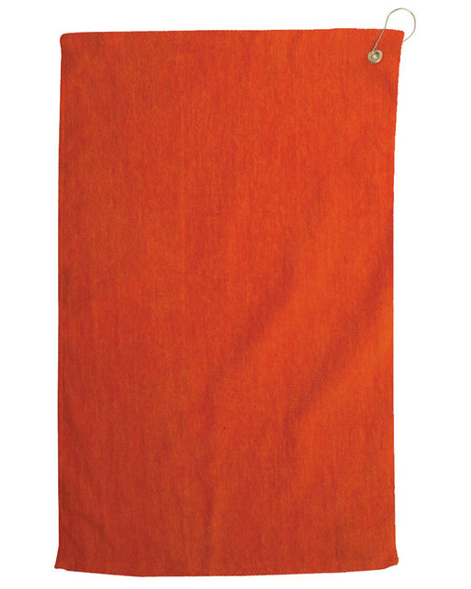 Pro Towels Diamond Collection Golf Towel - Orange