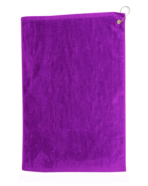 Pro Towels Diamond Collection Golf Towel - Purple