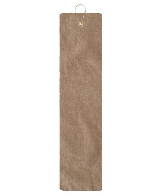 Pro Towels Diamond Collection Golf Towel - Tan
