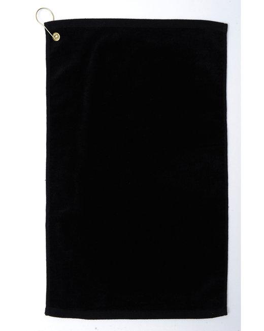 Pro Towels Platinum Collection Golf Towel - Black