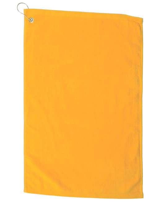 Pro Towels Platinum Collection Golf Towel - Gold