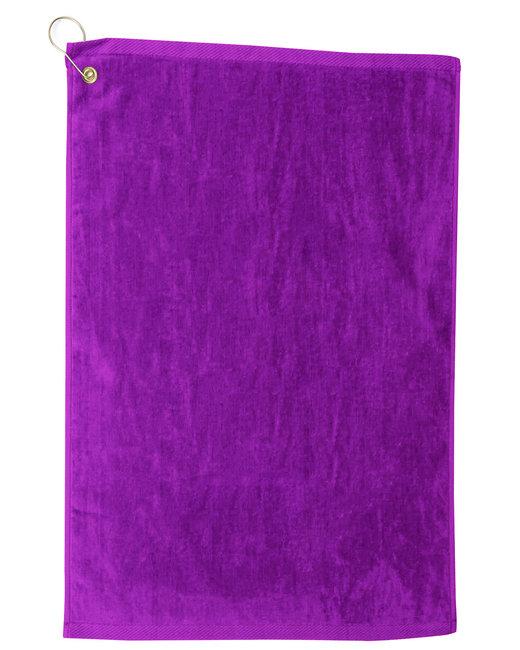 Pro Towels Platinum Collection Golf Towel - Purple