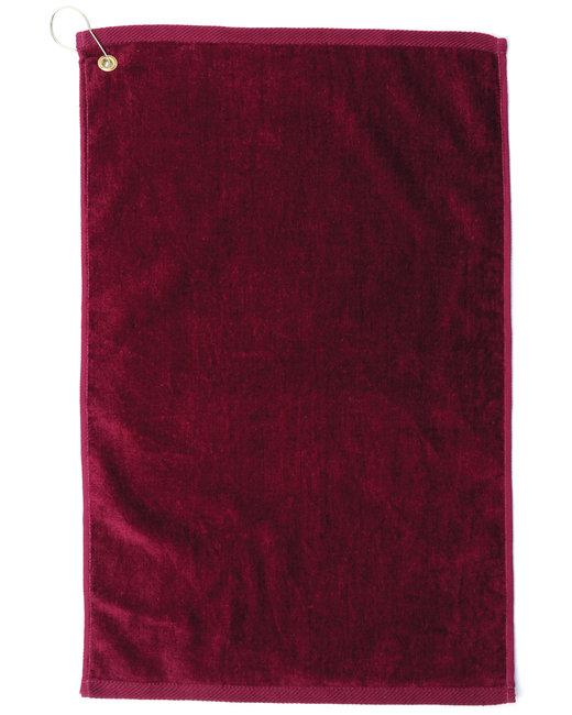 Pro Towels Platinum Collection Golf Towel - Burgundy