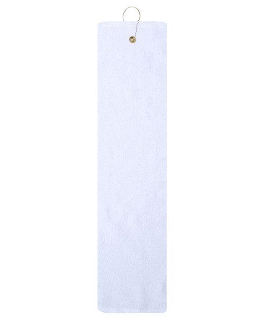 Pro Towels Platinum Collection Golf Towel - White