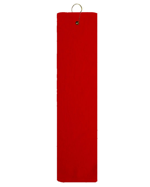 Pro Towels Platinum Collection Golf Towel - Red