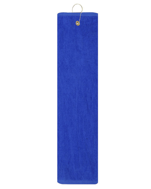 Pro Towels Platinum Collection Golf Towel - Royal Blue