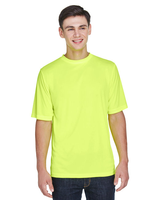 Team 365 Men's Zone Performance T-Shirt - Safety Yellow