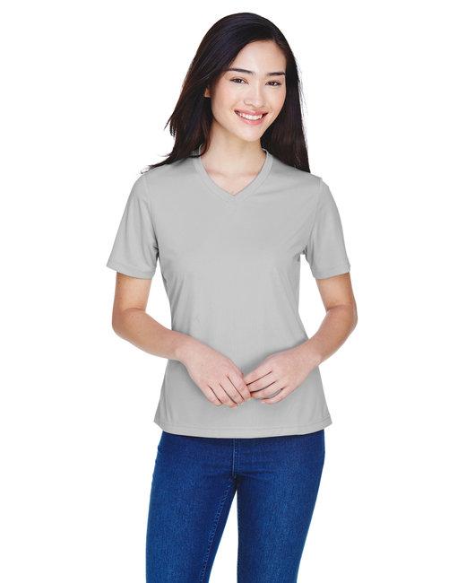 Team 365 Ladies' Zone Performance T-Shirt - Sport Silver