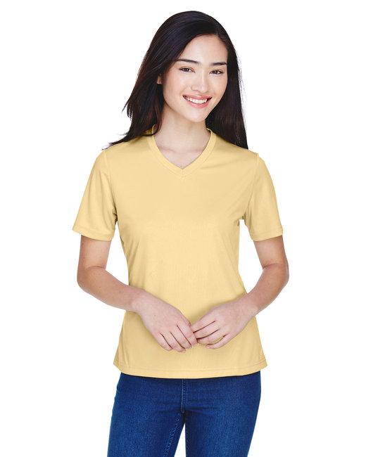 Team 365 Ladies' Zone Performance T-Shirt - Sport Vegas Gold