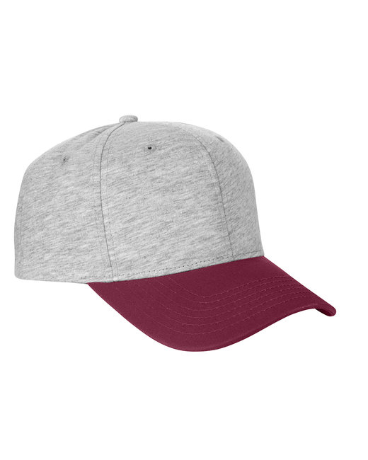 Team 365 Jersey Two-Tone Cap - Hthr Gry/ Sp Mar
