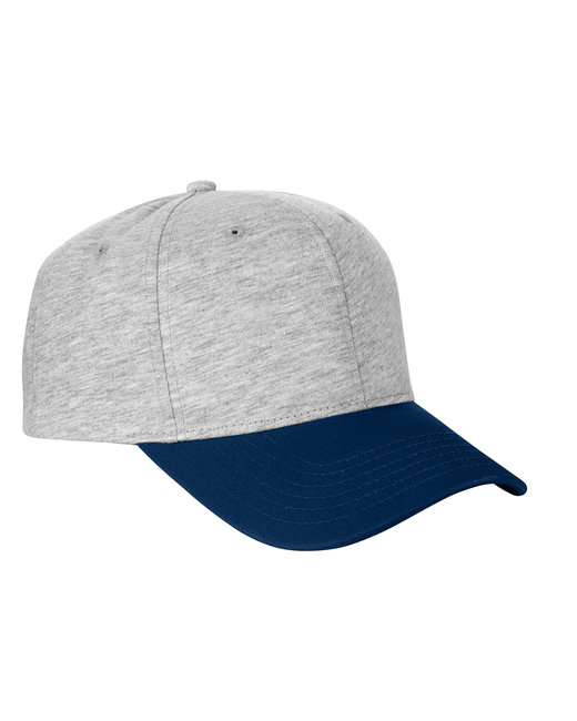 Team 365 Jersey Two-Tone Cap - H Gry/ Sp Dk Nvy