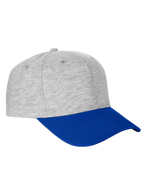 Team 365 Jersey Two-Tone Cap - Hthr Gry/ Sp Roy