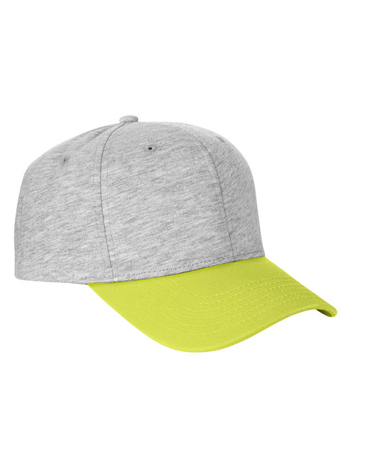 Team 365 Jersey Two-Tone Cap - Htr Gry/ Sp S Gr