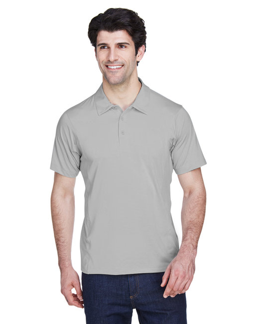 Team 365 Men's Charger Performance Polo - Sport Silver