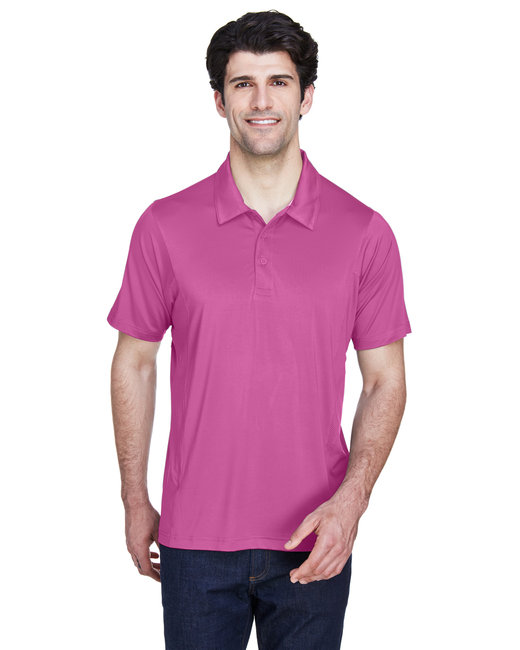Team 365 Men's Charger Performance Polo - Sport Chrty Pink
