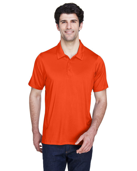 Team 365 Men's Charger Performance Polo - Sport Orange