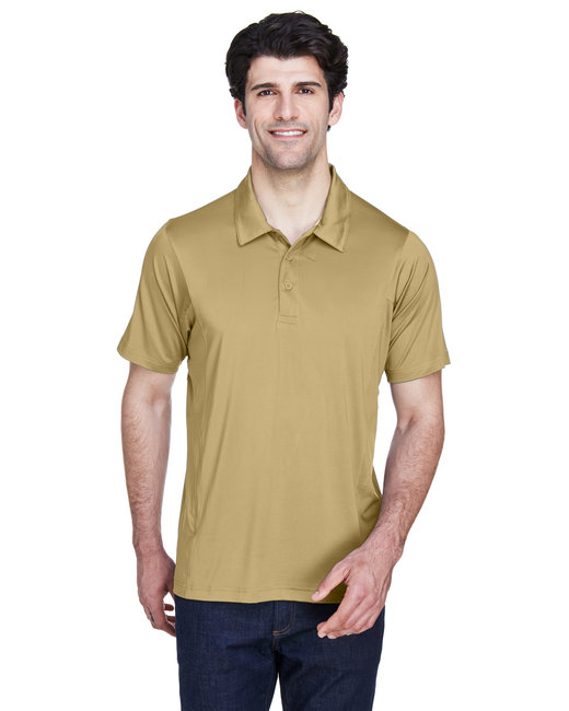 Team 365 Men's Charger Performance Polo - Sport Vegas Gold