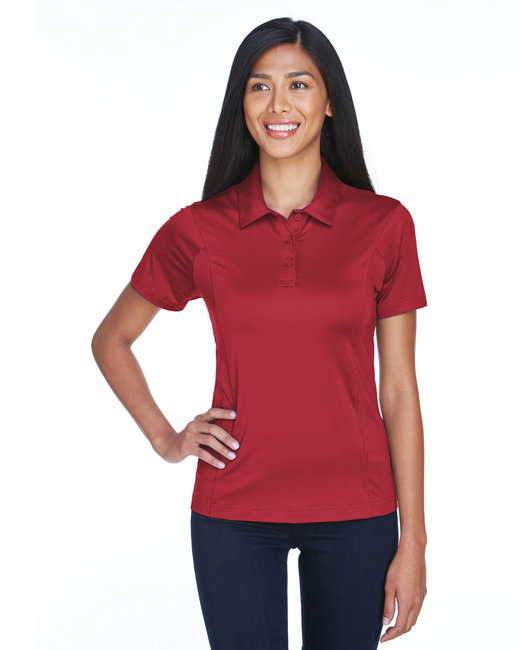 Team 365 Ladies' Charger Performance Polo - Sp Scarlet Red