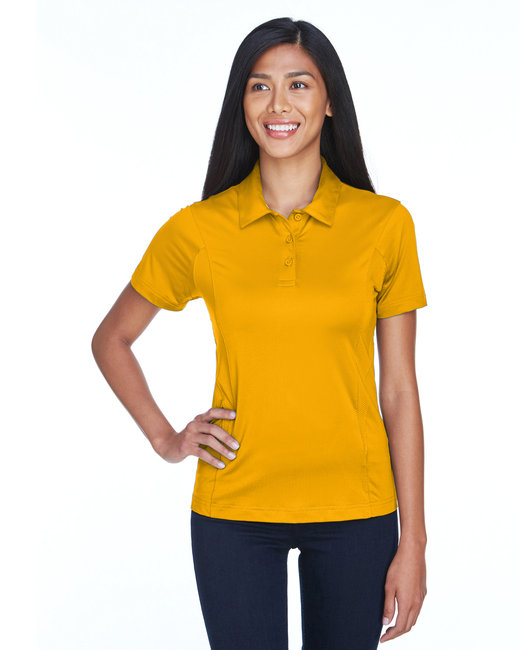 Team 365 Ladies' Charger Performance Polo - Sp Athletic Gold