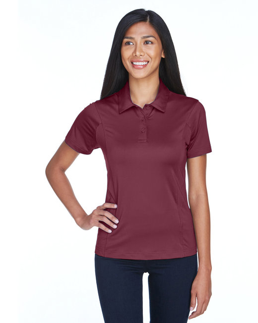 Team 365 Ladies' Charger Performance Polo - Sport Maroon
