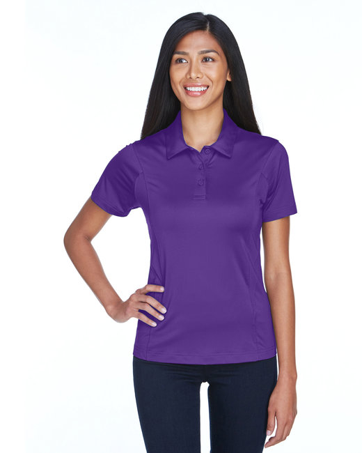 Team 365 Ladies' Charger Performance Polo - Sport Purple