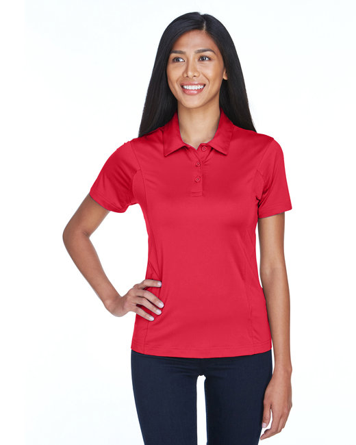 Team 365 Ladies' Charger Performance Polo - Sport Red