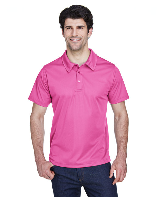 Team 365 Men's Command Snag Protection Polo - Sprt Chrity Pink