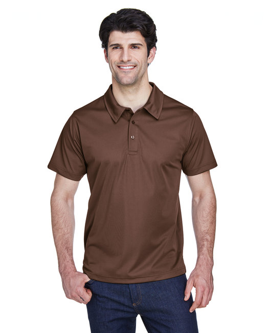 Team 365 Men's Command Snag Protection Polo - Sprt Dark Brown